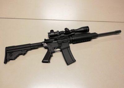 AR-15 .223 met scope