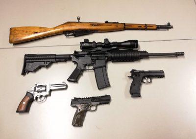 Diverse wapens